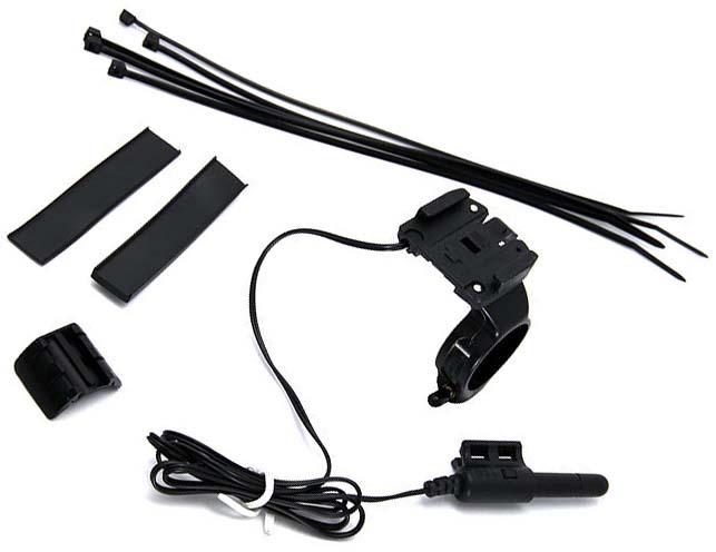 Особый комплект из крепления и датчика для велокомпьютера Cateye Velo 8 для установки по центру