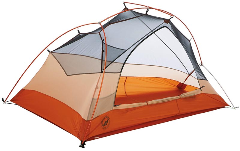 Самая лучшая туристическая одноместная палатка Big Agnes Copper Spur UL1