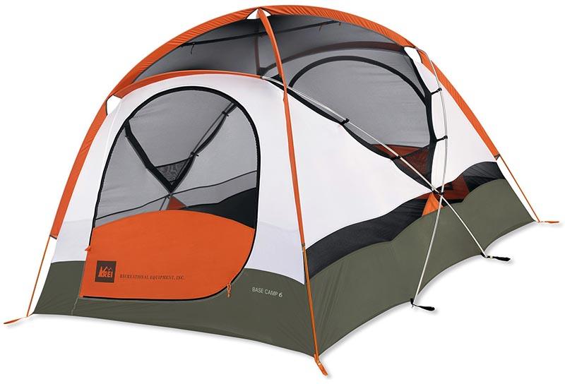 3-сезонная туристическая палатка REI Base Camp 6