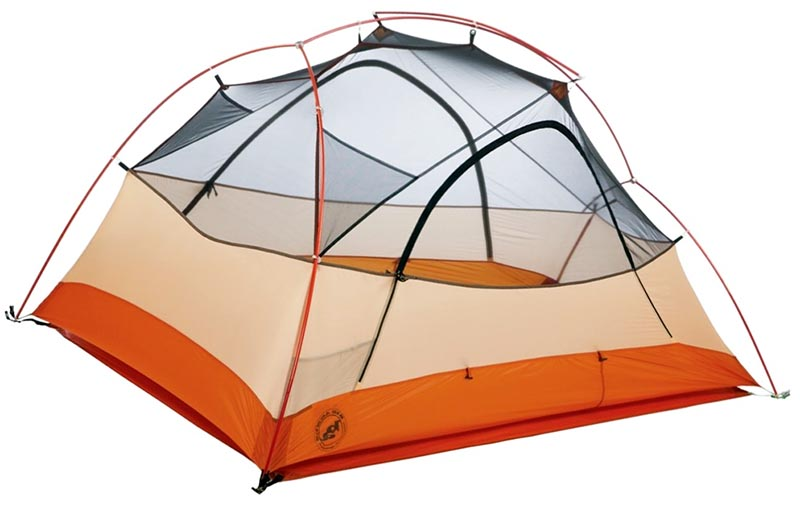 Туристическая палатка на 2 места Big Agnes Copper Spur UL2