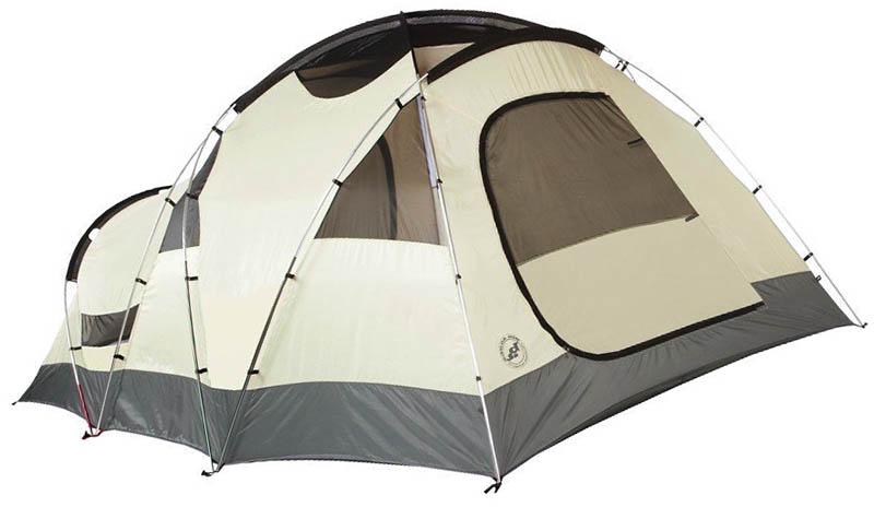 Самая лучшая 6-местная туристическая палатка Big Agnes Flying Diamond 6