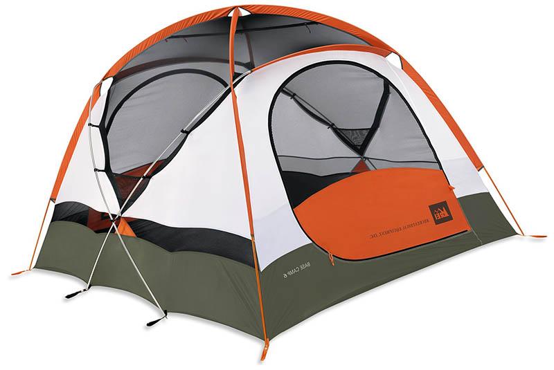 Туристическая палатка на 6 человек REI Base Camp 6