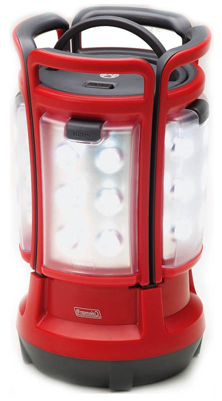 Аккумуляторный кемпинговый фонарь Coleman LED Quad