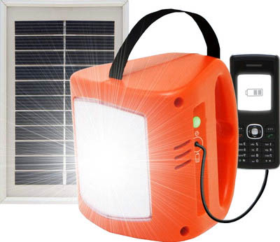 Кемпинговый фонарь на солнечных батареях d.lite S300 Solar LED