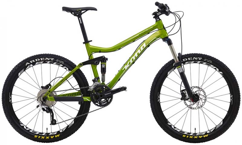 Горный all-mountain велосипед Kona Tanuki