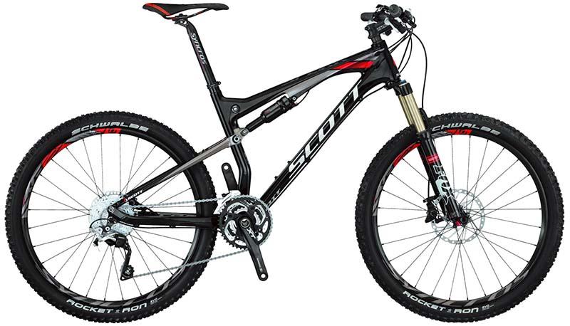 Самый лучший горный велосипед для кросс-кантри SCOTT Spark 610
