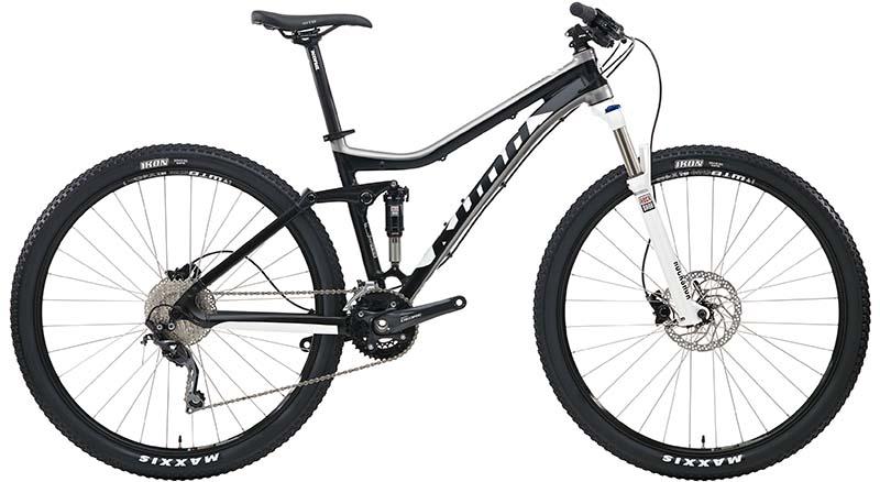 Горный кросс-кантрийный велосипед двухподвес Kona Hei Hei