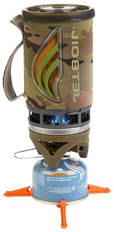 Компактная туристическая горелка Jetboil Flash Cooking System
