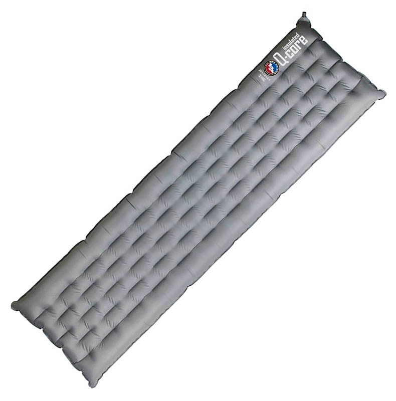 Самый лучший лёгкий надувной туристический коврик Big Agnes Insulated Q-Core