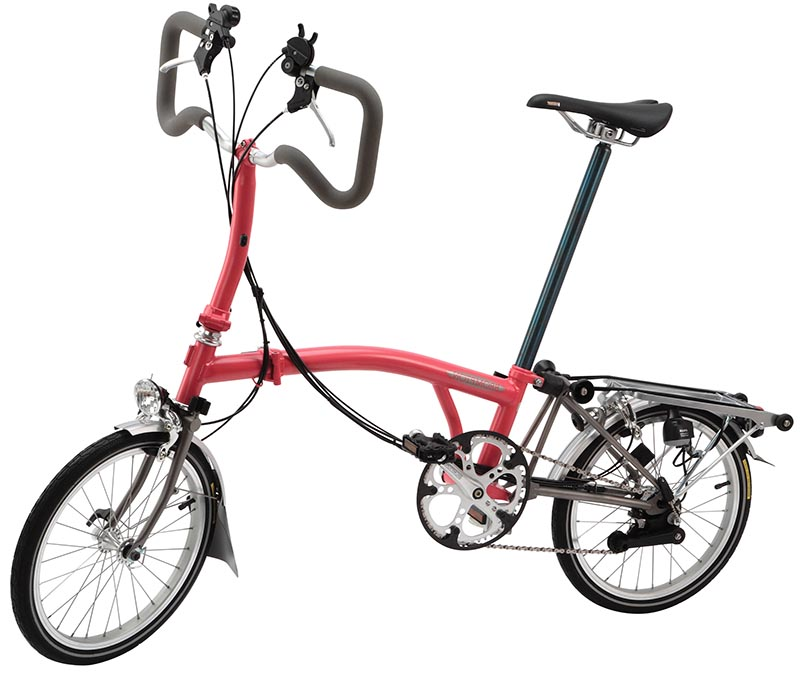 Складной велосипед Brompton P6R-X