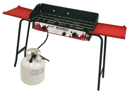 Самая лучшая туристическая газовая горелка Camp Chef Pro 60 2 Burner