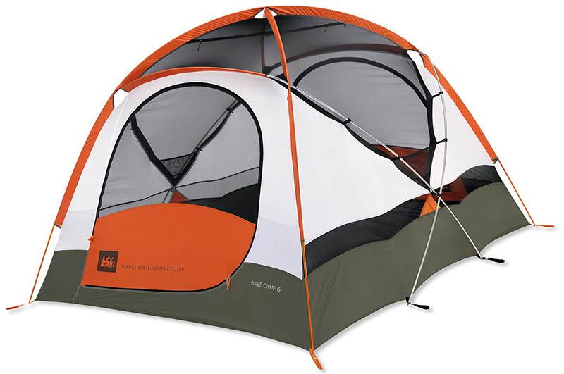 Туристическая палатка REI Base Camp 6
