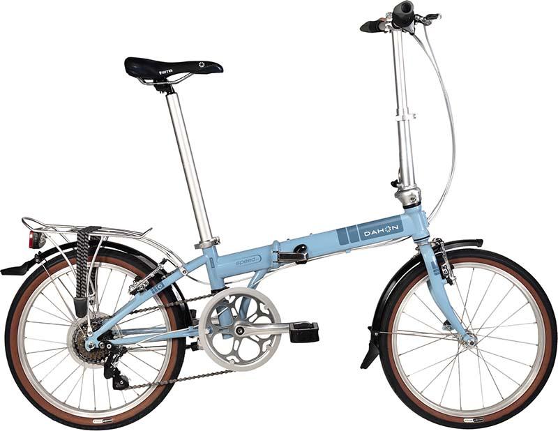 Лёгкий складной велосипед Dahon Speed D7
