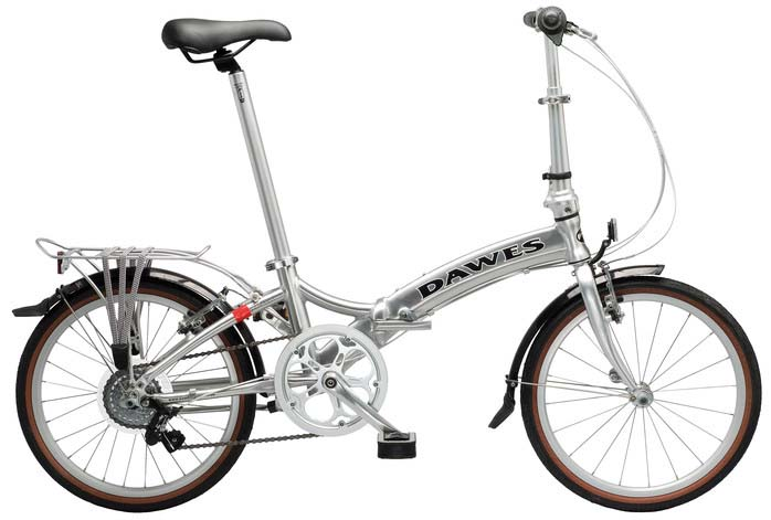 Лёгкий складной велосипед Dawes Kingpin