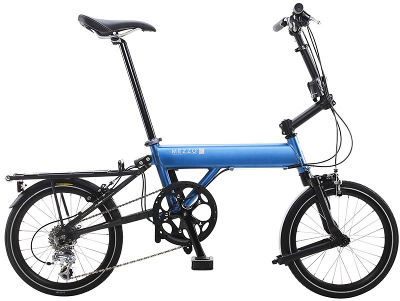 Лёгкий складной велосипед Mezzo i4