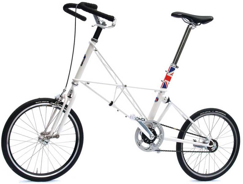 Складной велосипед Moulton
