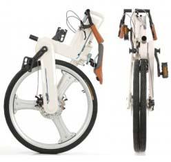 Велосипед Pacific Cycles в сложенном состоянии