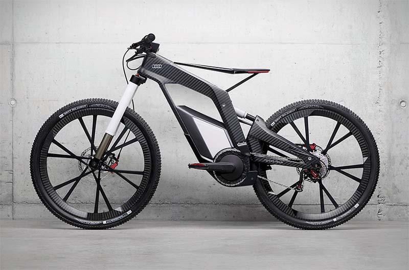 Спортивный электрический велосипед Audi Worthersee