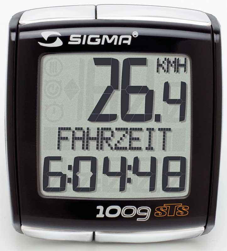 Велокомпьютер Sigma Sport BC 1009 STS