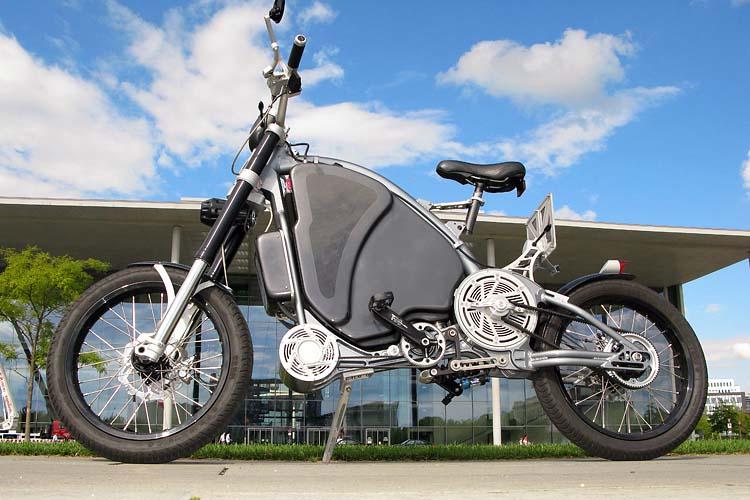 Велосипед мотоцикл фото