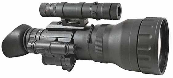 Монокуляр Luna Optics LN-EM Night Vision в качестве очков ночного видения