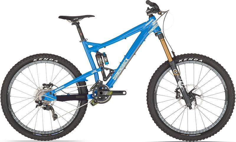 Самый лучший велосипед для даунхилла Diamondback Scapegoat