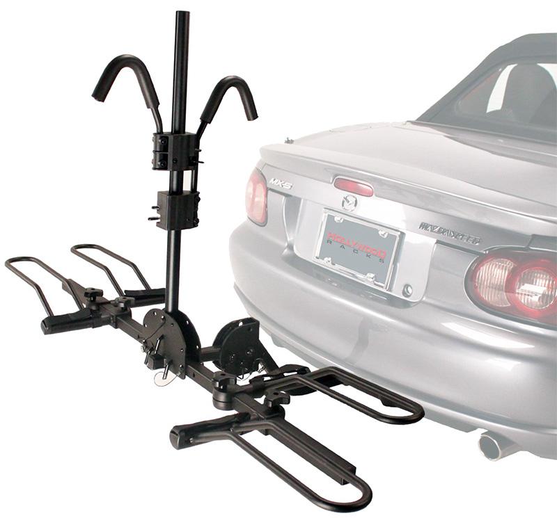 Багажник на фаркоп автомобиля для перевозки двух велосипедов Hollywood Racks HR1000 Sport Rider