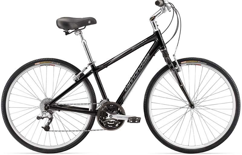 Комфортный гибридный велосипед Cannondale Adventure 3 Recreation Comfort