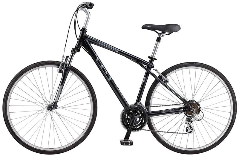 Комфортный гибридный велосипед GT Nomad 1.0