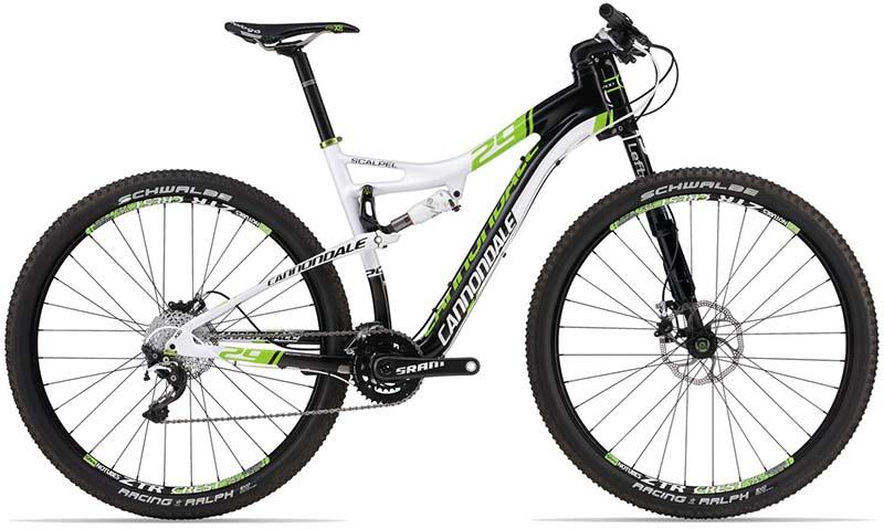 Самый лучший горный велосипед для фрирайда Cannondale Scalpel 29ER Carbon 1