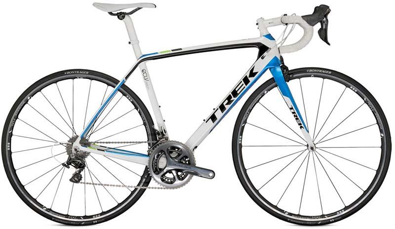 Самый лучший шоссейный карбоновый велосипед Trek Madone 7.7