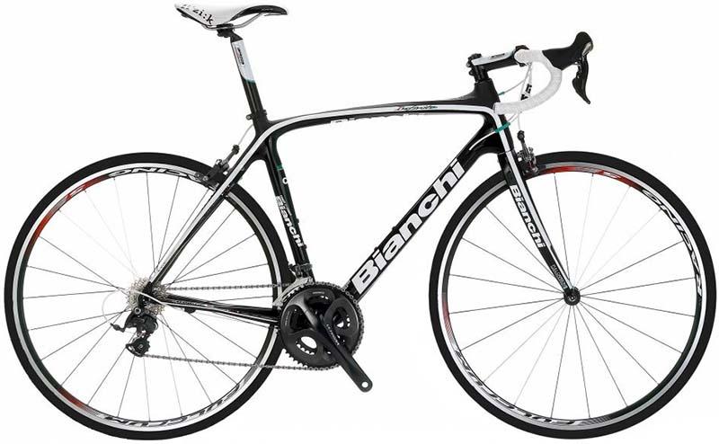 Шоссейный велосипед с карбоновой рамой Bianchi Infinito