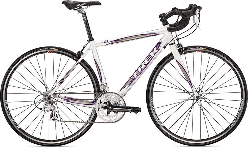 Недорогой шоссейный велосипед Trek 1.1