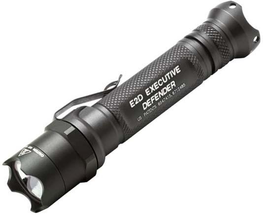 Тактический светодиодный фонарь Surefire E2D LED Executive Defender