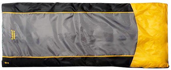 Самый лучший туристический спальный мешок для ребёнка прямоугольной формы Eureka Kids Minnow 45 Degree