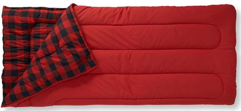 Детский туристический спальный мешок с фланелевой подкладкой L.L.Bean Kid's 40
