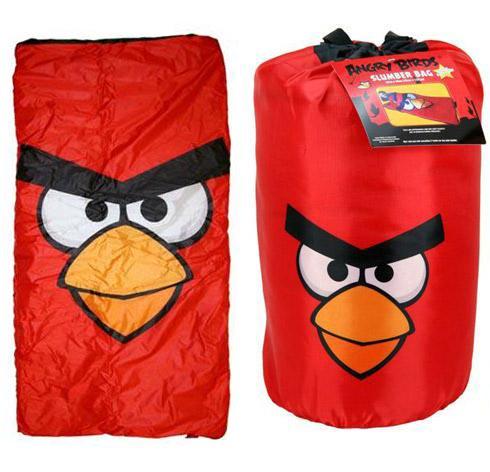 Туристический детский спальник Angry Birds Slumber