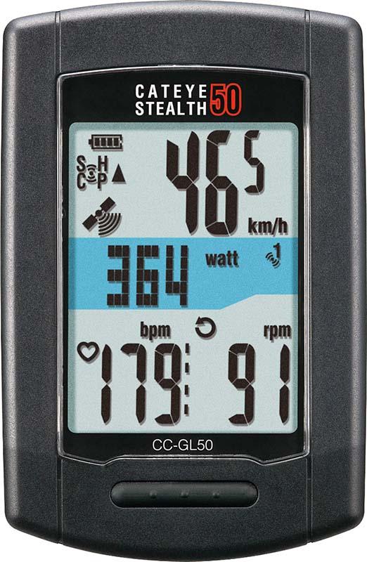 Самый лучший велокомпьютер Cateye Stealth 50
