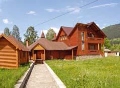 Гостиница в Верховине Карпатские росы
