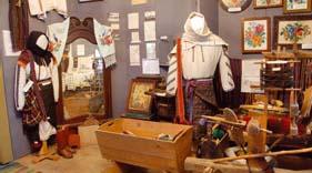 Краеведческий музей в селе Глыбокая