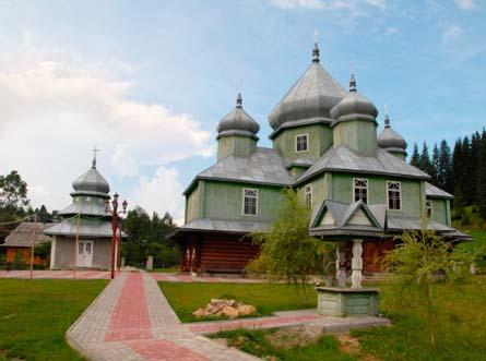 Церковь в Яблонице