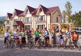 Прокат велосипедов в гостинице Ворохта