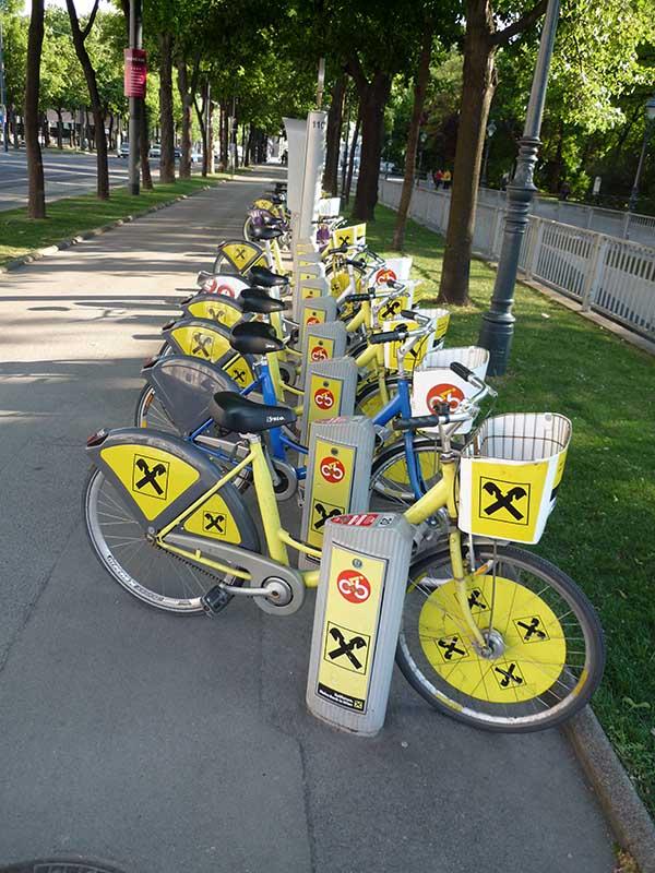 Электронная система проката велосипедов в Европе