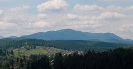 Вид на гору Говерлу