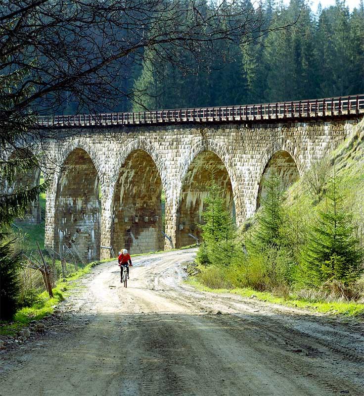 Железнодорожные акведуки в Ворохте