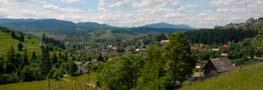 Вид на село Ворохта