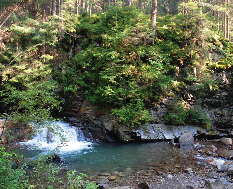 Водопад в Яремче