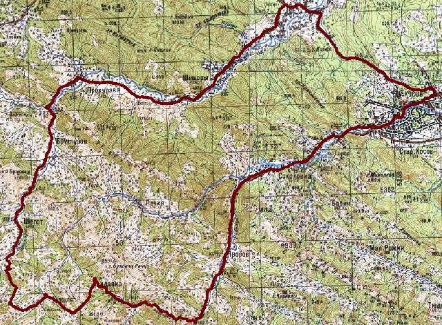 Велосипедный поход Карпатами
