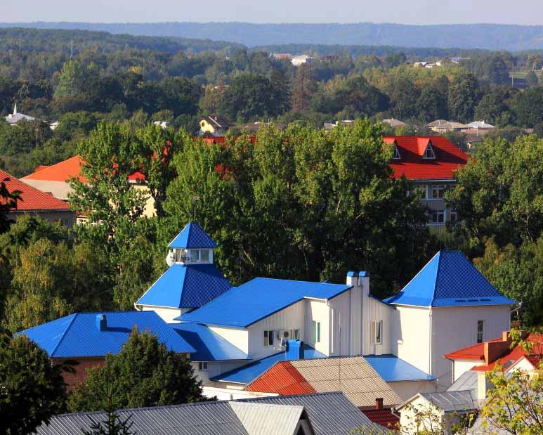 Панорама города Косова