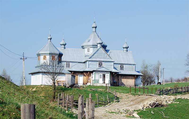 Церковь Рождества Пресвятой Марии Богородицы в селе-музее Криворивня